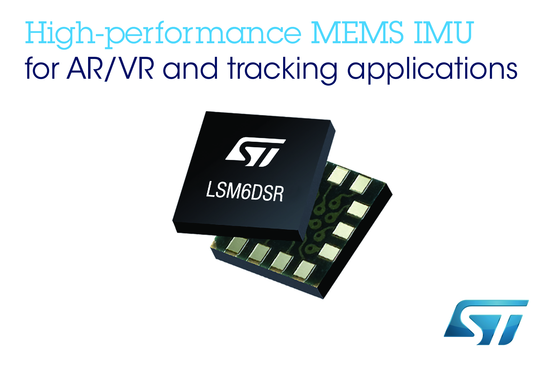 Stmicroelectronics launches high-performance MEMS inertial modules